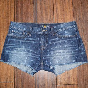 Lucky Brand Star and Stripe Riley Shorts